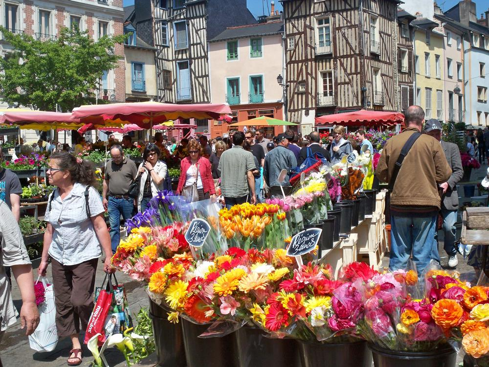Saturday Market in Rennes